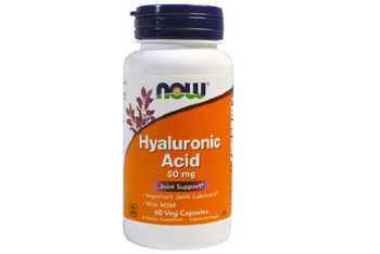 Now Hyaluronic Acid 50 мг 60 кап