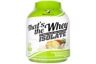 SD Thats The Whey Isolate 2270 гр SD Thats The Whey Isolate 2100 гр