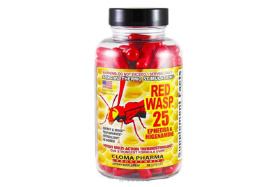 Cloma Pharma Red Wasp 25 Ephedra 75 кап