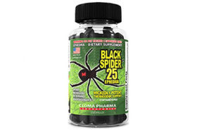 Cloma pharma Black Spider 100 кап