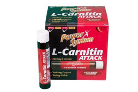 Power System L-Carnitin Attack 25 мл