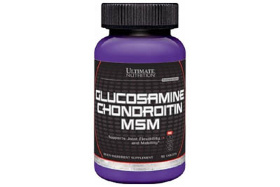 Ultimate Nutrition Glucosamine+Chondrotin+MSM 90 т