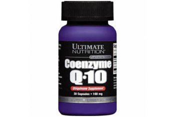 Ultimate Nutrition Coenzyme Q-10 100 мг 30 кап