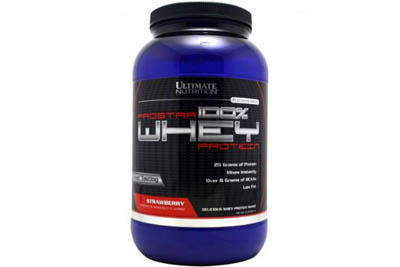 Ultimate Nutrition 100% Whey Prostar 907 гр Ultimate Nutrition 100% Whey Prostar 907 гр